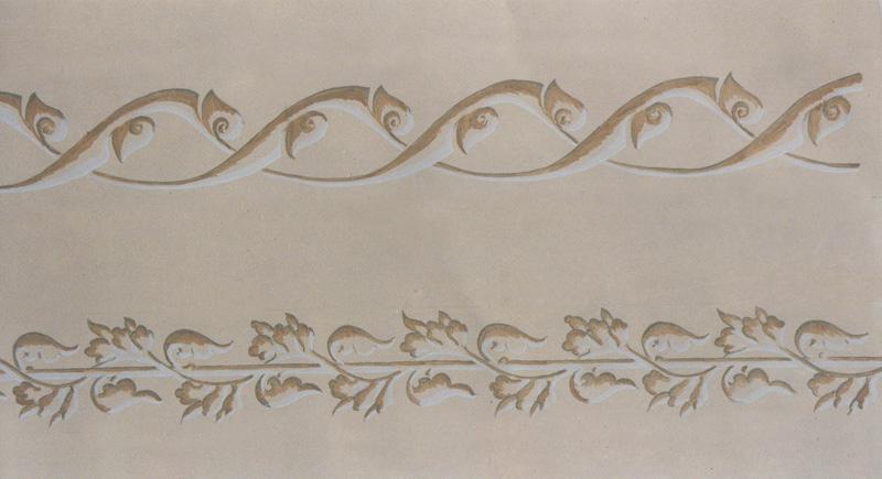 Frises murales - Frise murale en bois ...